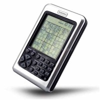 Sudoku Puzzle Game Player with 70 X 53.5mm Sized LCD Screen (ES-258)