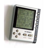 SUDOKU Handheld Puzzle Game with LED Backlights (ES-259)