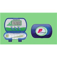 Multifunction Pedometer with Time