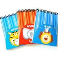 Animal Series Spiral Note Pads