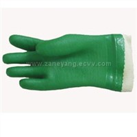 PVC Green Gloves
