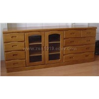 Wooden TV CABINET-01