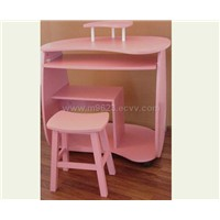 Kids Computer Desk with Chair Set