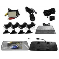 Parking Sensor System with Camera and TFT LCD Rear Mirror