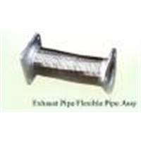 Motor exhaust flexible pipe