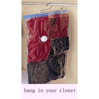 Hanging vacuum storage bag(hanging space bag)