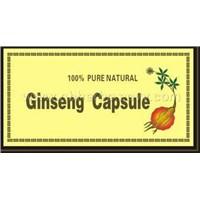 Ginseng Capsule