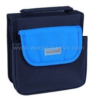 PU and 1680D polyester CD wallet for 32CDs