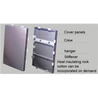 FAL PVDF aluminum panel