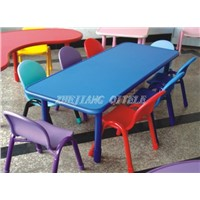 colorful kids table & chair