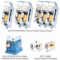 Vacuum Contactor And Interrupter