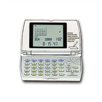 Databank Calculator with World Time Calendar Clock