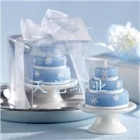 wedding gift of snow candle set