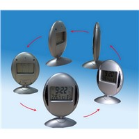 360otary Digital Clock