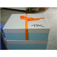 Rigid Cardboard Gift Box, 2-pc setup box