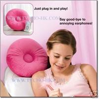 Music Speaker Pillow (round shape)
