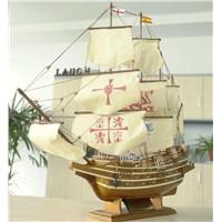 spanish galleon boat model