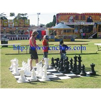 giant chess set&garden chess set