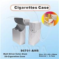 Matt Silver Aluminum Cigarettes