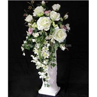 Artificial Flower with Ceramic Vase