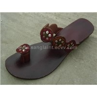 ladies kolapuri chapal ,leather chapal sandal