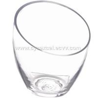 Hand Blown Glass Urn Vases