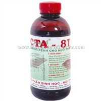 Disease prevention  for aquaculture CTA-8T
