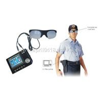 Sunglasses camera with AV recorder