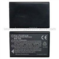 Replacement Digital Camera Battery for Fuji NP-60