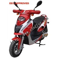 Gas-Powered 150cc Engine EEC APPROVED Scooter