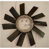 Engine cooling fan blades for BMW car