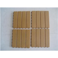 Interlocking Plastic wooden mat