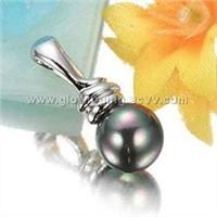925 sterling silver pendant w/pearl