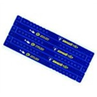 7-shape PVC one-time off bracelet