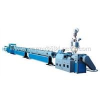 plastic extrusion molding machine