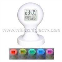 New Magic-Bulb Digital Alarm Clock