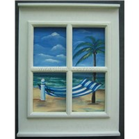wall hanging frame with hand painting