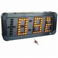 Time and Temperature LED Sign