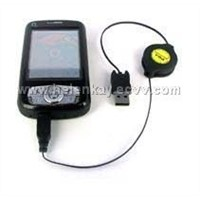 PDA Retractable sync+Charger Cable