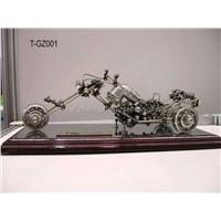 Handmade Metal Motorcycle Model Gift