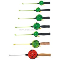 Ice reel rod