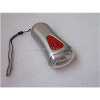 led flashlight, shaking flashlight