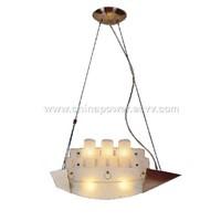 Craft Glass Lamp