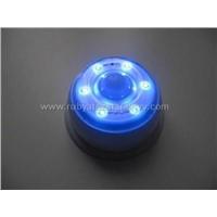 LED Lamp--Blue led white housing