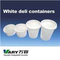 Deli Container (Milk White)