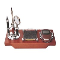 Rosewood Desk Set