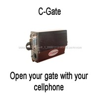 open your gate wirh the cellular phone