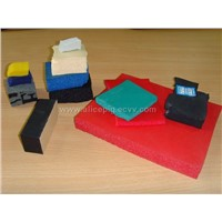 Rubber sponge goods