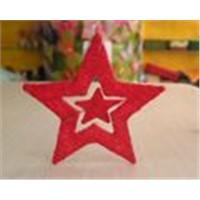 Sisal star with star inside