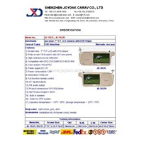 CAR DVD with TFT LCD screen